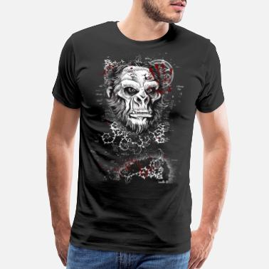 Pirate boss T shirt funny cool humour humor jokes geek - Men's Premium T-Shirt