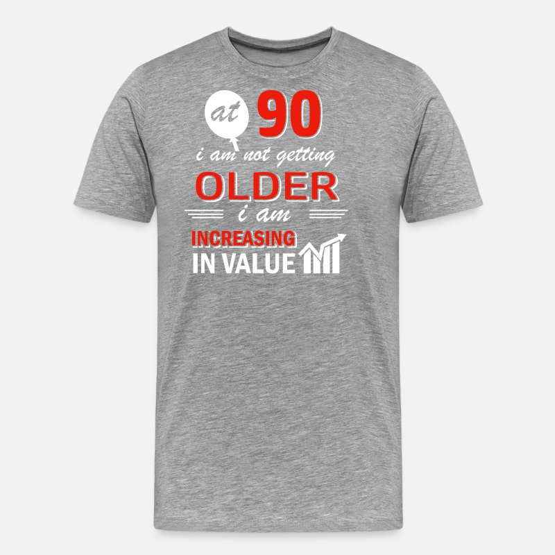 Funny 90 Year Old Gifts Men S Premium T Shirt Spreadshirt