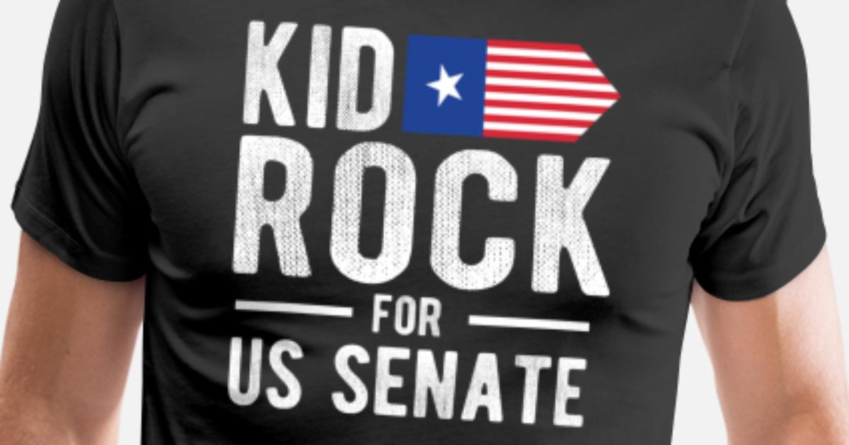 10cdef9ed Kid For US Senate 2018 Election In Rock We Trust Men's Premium T-Shirt |  Spreadshirt