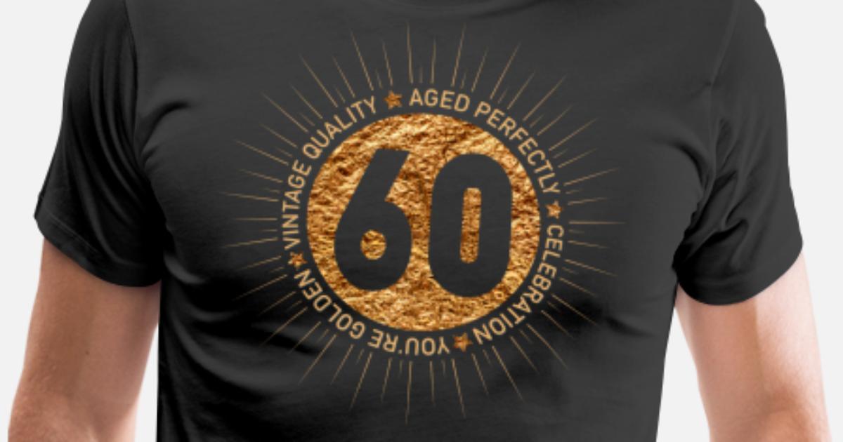HAPPY 60TH BIRTHDAY Mens Premium T Shirt