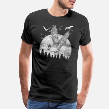 Bats bats night - Men's Premium T-Shirt