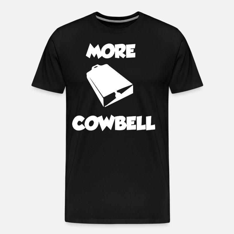 73a24b5c Christopher Walken SNL More Cowbell Skit Funny Cow Men's Premium T-Shirt |  Spreadshirt