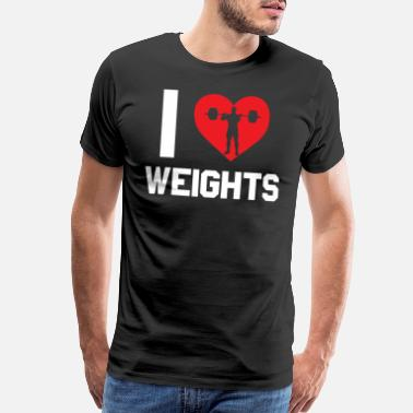 Scratch Weightlifting - Men's Premium T-Shirt