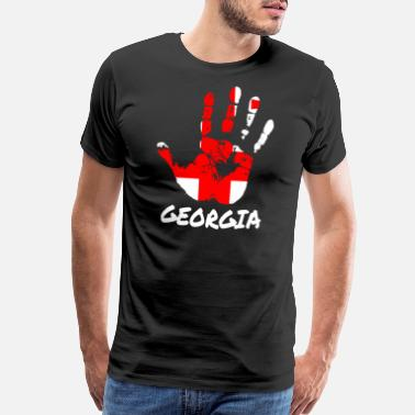 Russia Georgia - Men's Premium T-Shirt