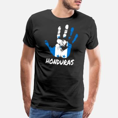 French Flag Honduras - Men's Premium T-Shirt