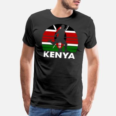 Germany Football Kenya Soccer Football KEN - Men's Premium T-Shirt
