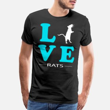 Rat Love Rat - Men's Premium T-Shirt