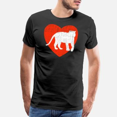 Liberation Heart For Tigers - Men's Premium T-Shirt
