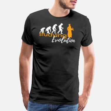 Places Of Interest STUDYING EVOLUTION - Men's Premium T-Shirt