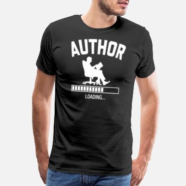 Job Future Author - Men's Premium T-Shirt