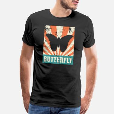 Caterpillar Butterfly Summer Sun Wonderful - Men's Premium T-Shirt