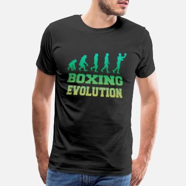 Hook Up Boxing Evolution Gift - Men's Premium T-Shirt