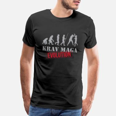 Military Police Krav Maga Evolution - Men's Premium T-Shirt