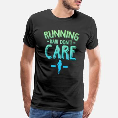 Jogging Jogging cardio workout fitness sport - Men's Premium T-Shirt