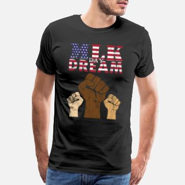 Politics MLK Day Dream - Men's Premium T-Shirt