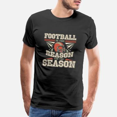 Football Game Football Season - Men's Premium T-Shirt