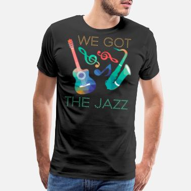Bache Jazz t shirt - Men's Premium T-Shirt