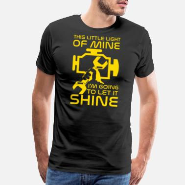 Check Engine Light Little light of mine i'm going to let it shine - Men's Premium T-Shirt