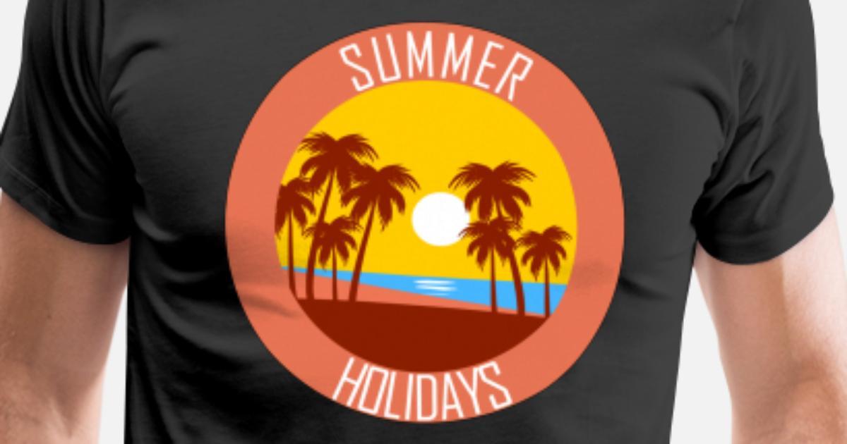 f86d31752c4 Summer Holidays Men s Premium T-Shirt