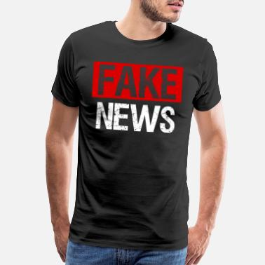 About Fake News Costume - Men's Premium T-Shirt