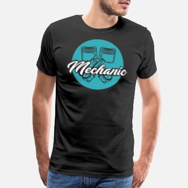 Professional Engineer Mechanic Funny Quotes Work Gift Profession Car Job - Men's Premium T-Shirt