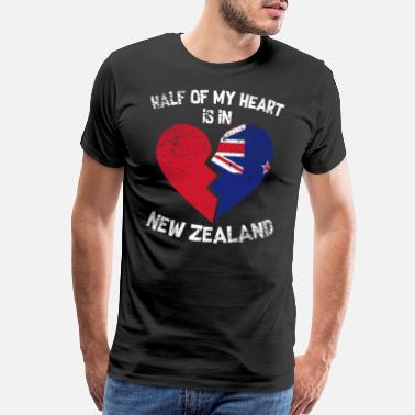 Homesickness New Zealand - Men's Premium T-Shirt