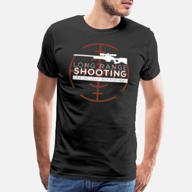 Target Long Range Shooting - Men's Premium T-Shirt