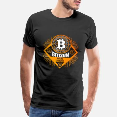 Dollar Bitcoin BTC - Men's Premium T-Shirt