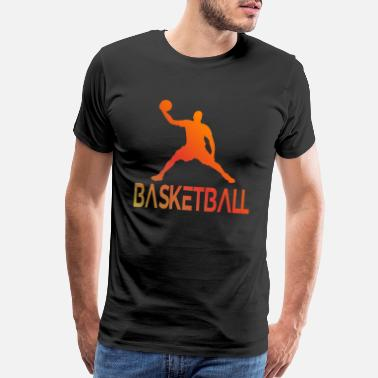 Point Basketball Champion Basketball Player Fans Retro - Men's Premium T-Shirt