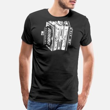 Accordion Accordion Instrument - Men's Premium T-Shirt