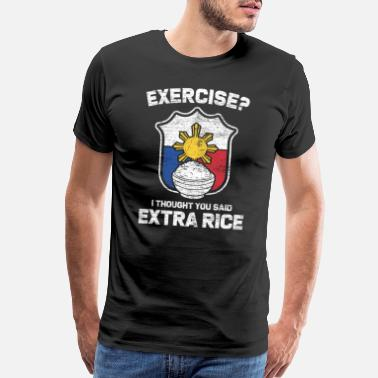 Rice Philippine - Men's Premium T-Shirt