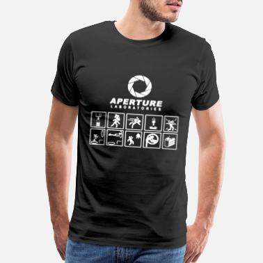 Portal Portal Aperture Science Laboratories Video Game Me - Men's Premium T-Shirt