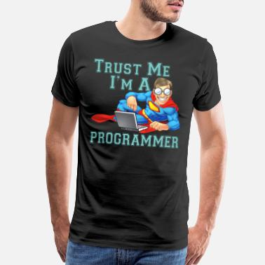 Webcomic Trust me i m a Programmer - Men's Premium T-Shirt