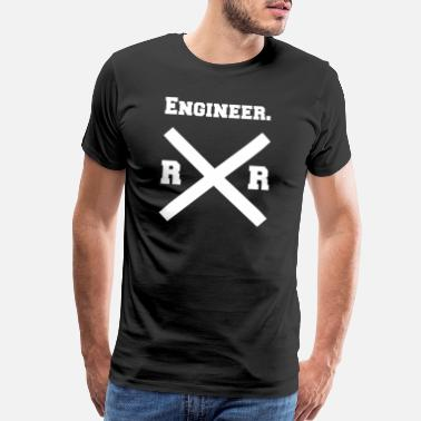 Engine RR engineer - Men's Premium T-Shirt