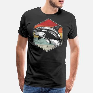 Orca Orca Killer Whale Orcas Fish Ocean Animal Sea Gift - Men's Premium T-Shirt