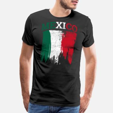 Tacos And Tequila Mexico - Men's Premium T-Shirt