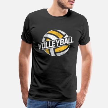 Sand Volleyball Volleyball - Men's Premium T-Shirt