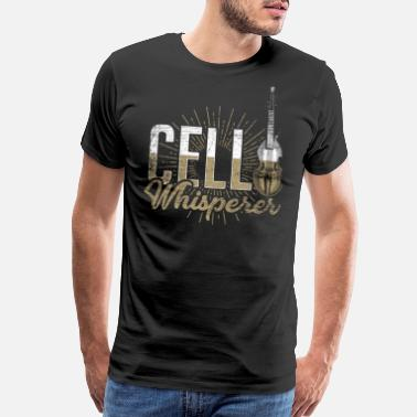 Cello Concert Cello Whisperer - Men's Premium T-Shirt