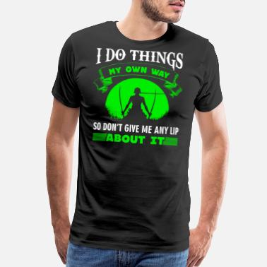 Zoro One Piece ZORO QUOTE - ONE PIECE - Men's Premium T-Shirt