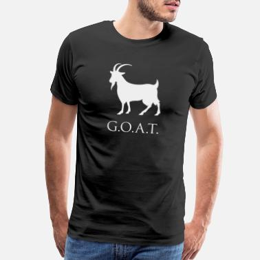 Time G.O.A.T. Greatest of All Time - Men's Premium T-Shirt