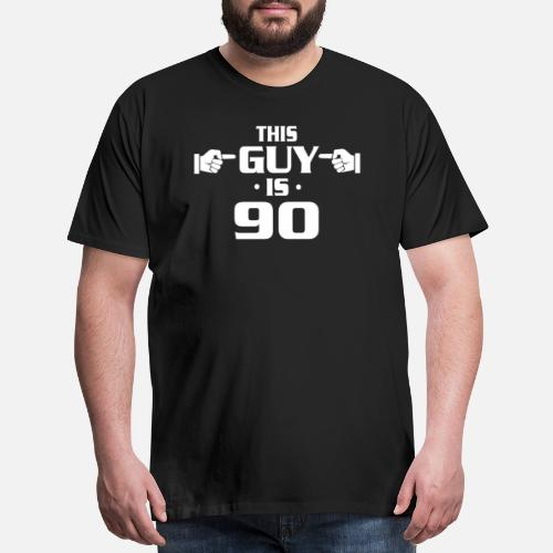 Mens Premium T Shirt90th Birthday Shirts