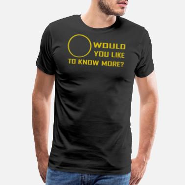 I Would Like To Apologize Would you like to know - Men's Premium T-Shirt
