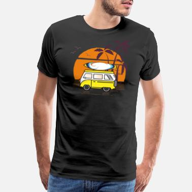 d33d3d3b Shop Hippies Surfing T-Shirts online | Spreadshirt