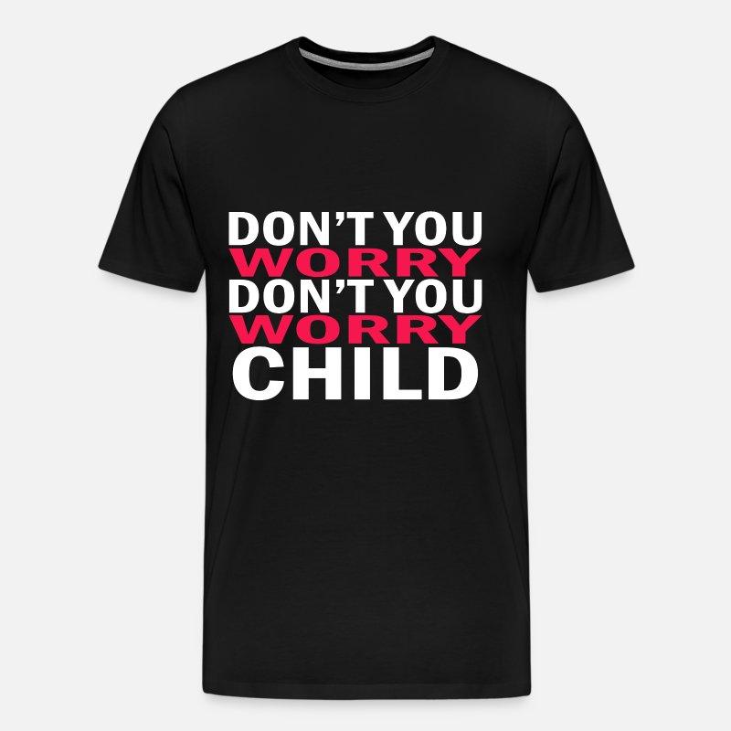 SWEDISH HOUSE MAFIA Don/'t You Worry Child DJ White Cotton T-Shirt