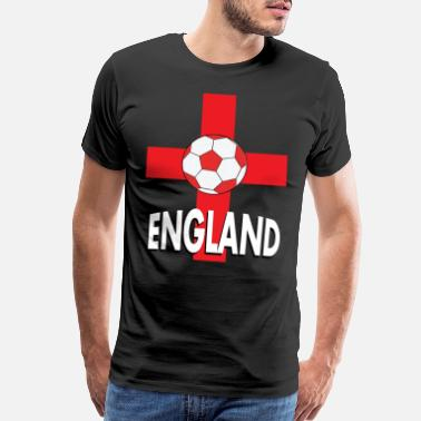 England T-shirt Football Soccer England - Men's Premium T-Shirt