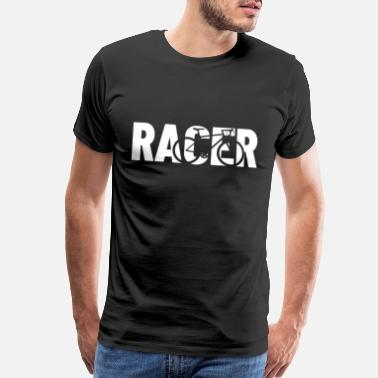 Racing Bike racing bike - Men's Premium T-Shirt