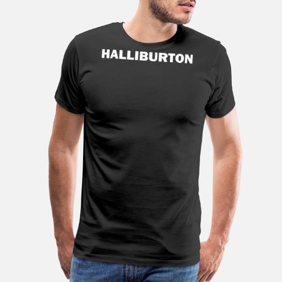 HALLIBURTON Men's Premium T-Shirt | Spreadshirt