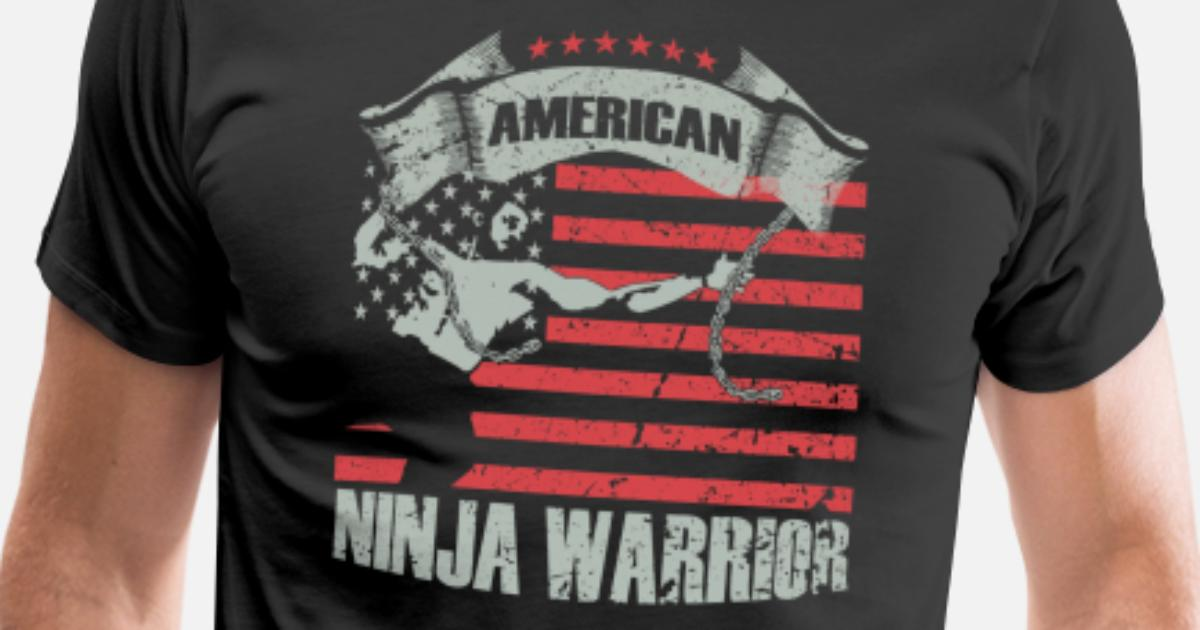 e832ae020469e5 American Ninja warrior lovers Men's Premium T-Shirt | Spreadshirt