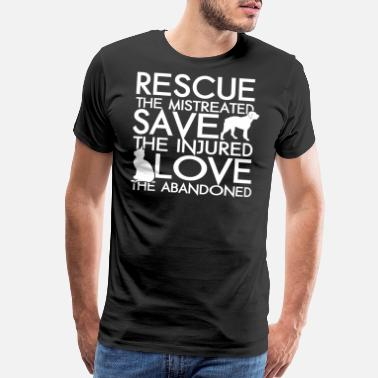 Rescue Team Rescue animals - Rescue animals - rescue the mis - Men's Premium T-Shirt