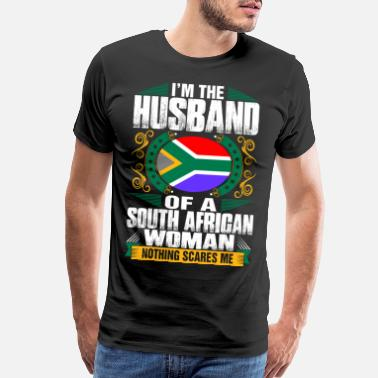 South Im South African Woman Husband - Men's Premium T-Shirt
